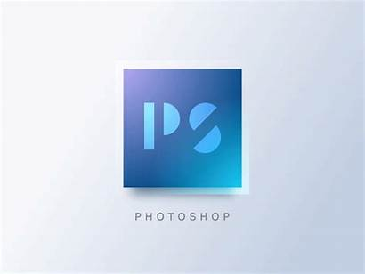 Photoshop Animated Ps Concept Dribbble Indispensable Communication