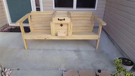 cooler benchchair youtube