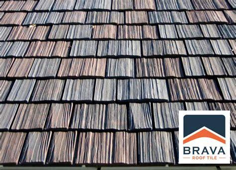 cedar shake roof vs brava composite shake roof synthetic