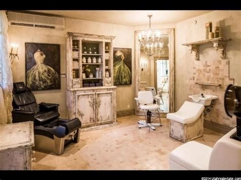 Gorgeous In Home Salon  Room Inspiration  Home Hair