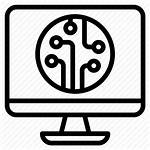 Software Hardware Icon System Computing Icons Technology