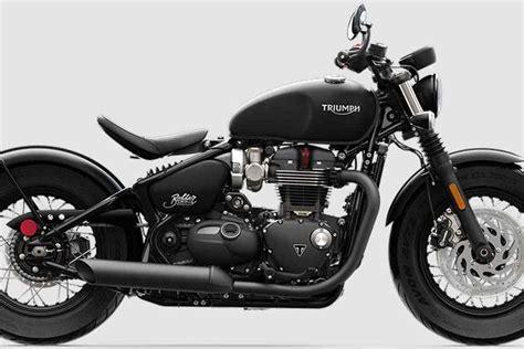 triumph bonneville bobber black unleashed