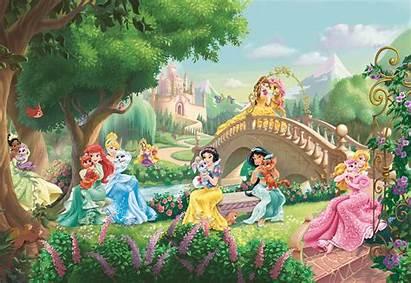 Disney Princess Mural Palace Pets Wall Tablet
