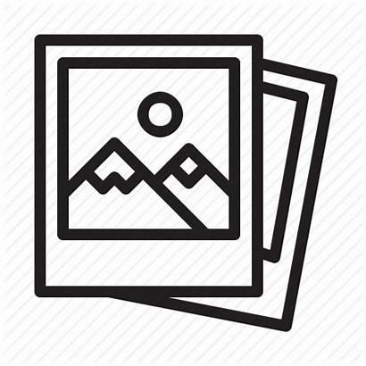 Polaroid Icon Clipart Pixel Transparent Production Icons