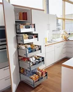 Kitchen, Cupboard, Space, Saving, Ideas