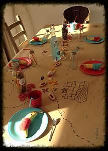 Deco Anniversaire Pirate : table d 39 anniversaire pirate d co anniversaire enfants pinterest party table cloths ~ Melissatoandfro.com Idées de Décoration