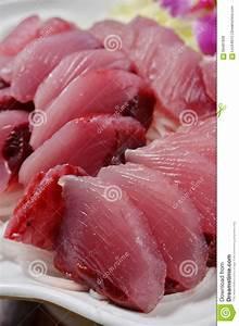 Yellowfin Tuna Sashimi Stock Photo - Image: 56481936