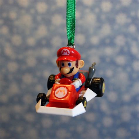 nintendo mario kart super mario deluxe christmas by regeekery
