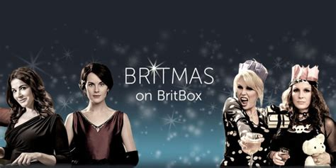 coming  britbox uk  december  christmas tv time