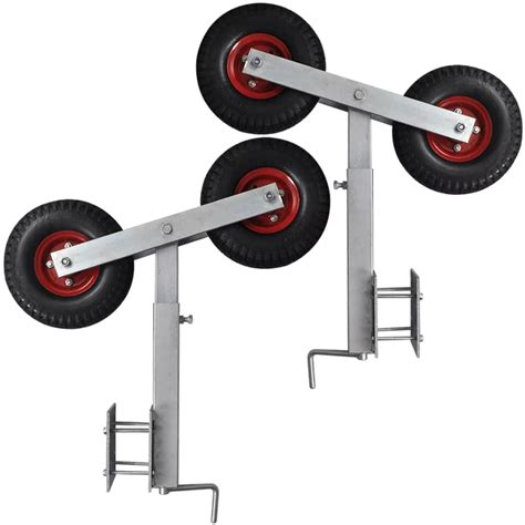 Boat Trailers For Wheels by Boat Trailer Wheel Bow Support Set Of 2 2 3