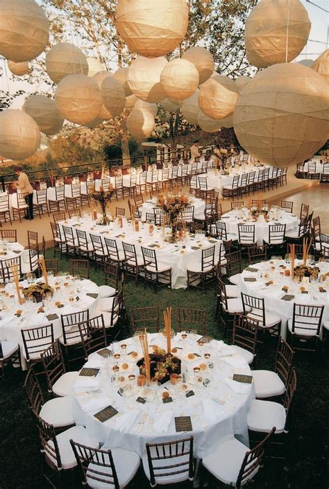 wedding reception layout a festive alfresco celebration in san pedro california