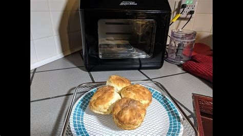 fryer oven air biscuits power frozen elite heating instructions