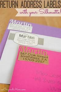 diy return address labels unoriginal mom With how to make return address labels