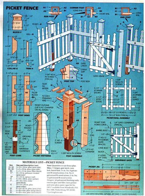 building  picket fence woodarchivist