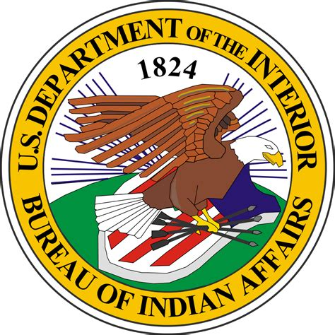 the bureau file seal of the united states bureau of indian affairs