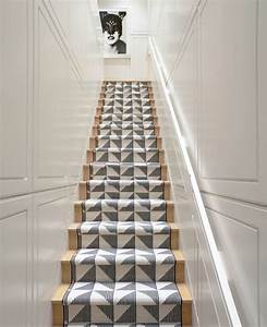 les plus beaux tapis modernes en photos With tapis d escalier design