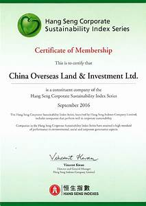 China Overseas Land and Investment Limited Included in ...