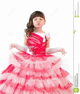 little girl with in beautiful dress stock image image With robe petite fille petit bateau