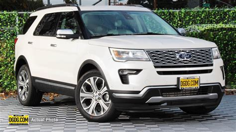 2019 ford explorer new 2019 ford explorer platinum 4d sport utility in san
