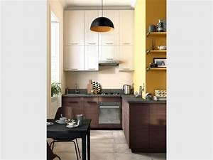 Profondeur Plan De Travail Cuisine : am nager une cuisine dans moins de 6 m2 c 39 est possible ~ Melissatoandfro.com Idées de Décoration
