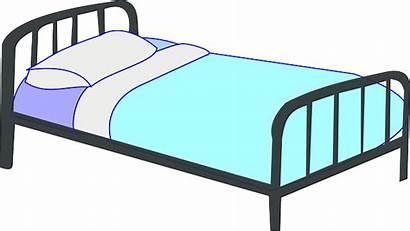Bed Bedroom Pixabay Pillow Frame Metal Vector