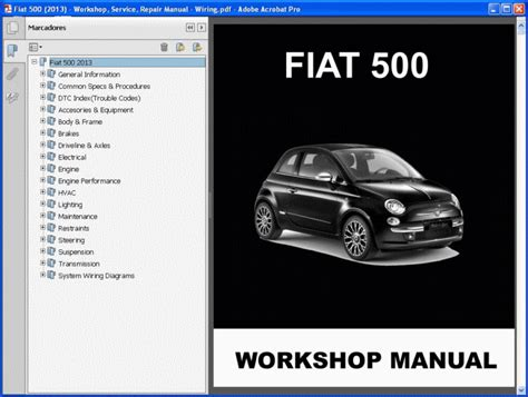 Fiat 500 Service Schedule by Fiat 500 2013 Service Manual Wiring Information