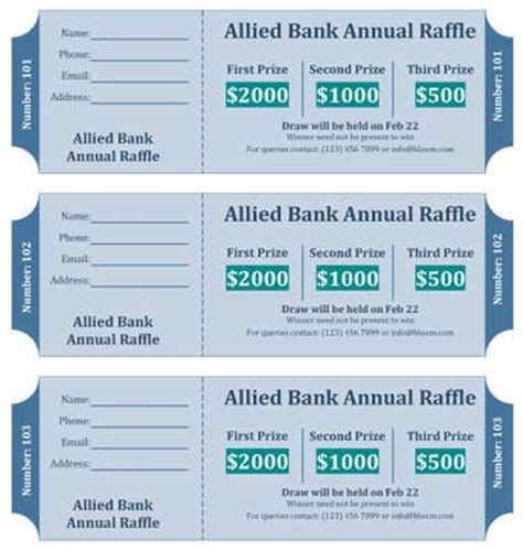 dinner ticket template word diy 15 free raffle ticket templates follow these steps to