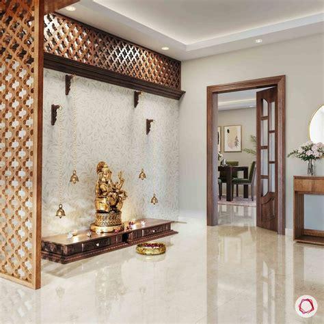 simple pooja mandir designs  walls jaali interior design ideas temple design  home