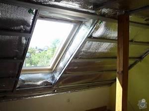 Sádrokarton kolem střešního okna