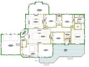 open floor plan blueprints best one story house plans single story house plans floor