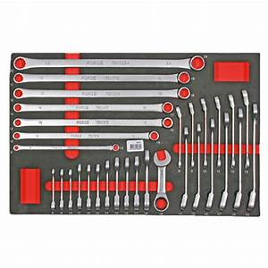 Force Tools 00331 31 Piece Gear Wrench Tray Set