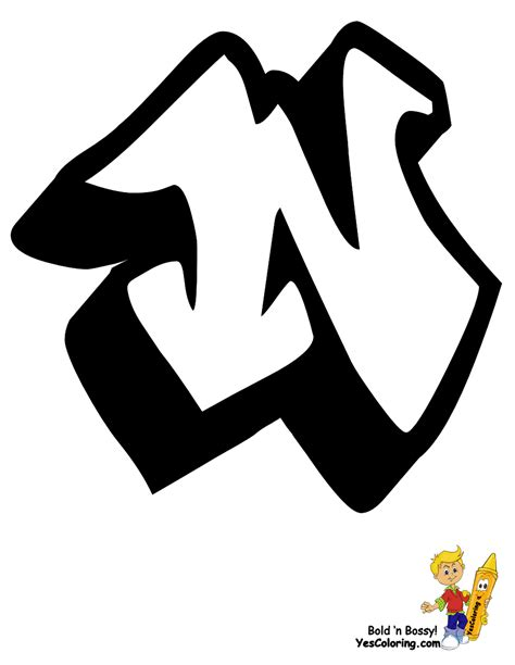 big boss graffiti alphabet  learning letters