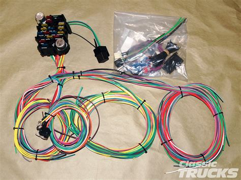 Universal Automotive Wiring Harnes Kit by Aftermarket Wiring Harness Install Rod Network