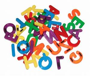 ml044 jumbo magnetic letters upper case set of 34 With jumbo letters