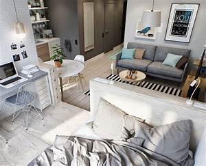 1 Zimmer Wohnung Clever Einrichten : die besten 25 kleine zimmer einrichten ideen auf pinterest kleine wohnung einrichten 1 ~ Bigdaddyawards.com Haus und Dekorationen