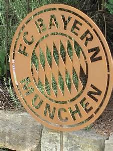 Feuerkorb Bayern München : fc bayern edelrost gartenstecker angels garden dekoshop ~ Lizthompson.info Haus und Dekorationen