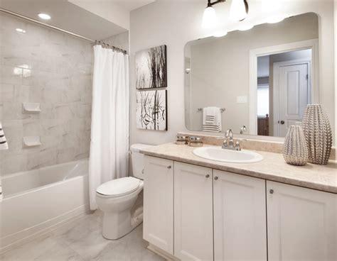 bathroom cabinets ideas photos model homes transitional bathroom ottawa by tartan