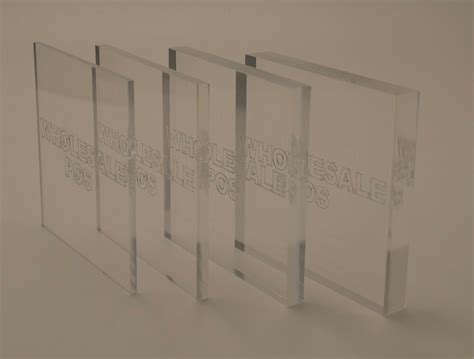 1 5mm very thin clear acrylic perspex sheet a4 size 2 ebay