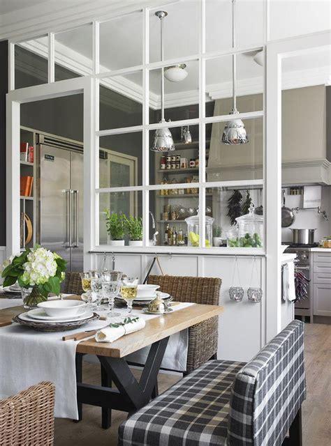 passe plat cuisine americaine 80 divisórias de ambientes vazadas inspiradoras