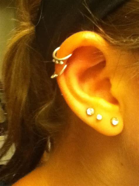ear piercings images  pinterest ears jewerly