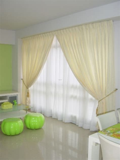 living room curtains casual cottage