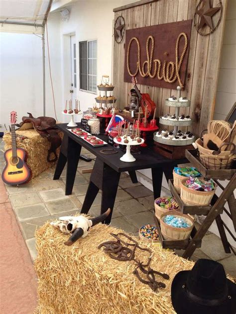 western party birthday party ideas photo
