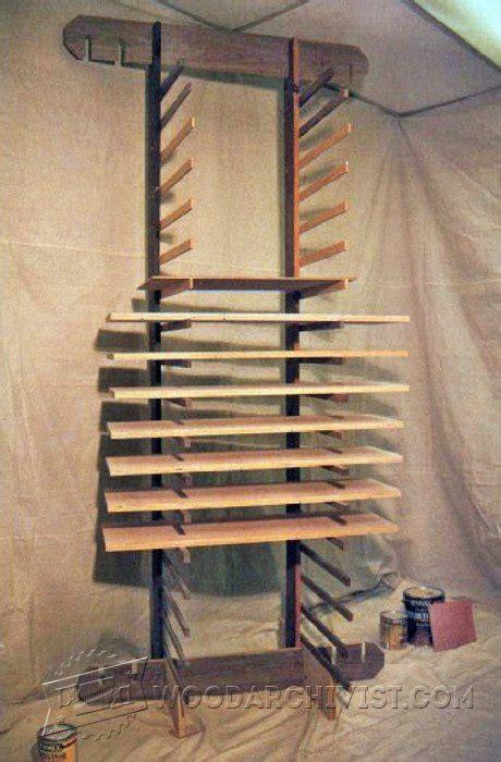 cabinet door finishing racks 1381 knock down drying rack woodarchivist