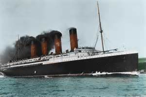 rms lusitania in color www pixshark images galleries with a bite