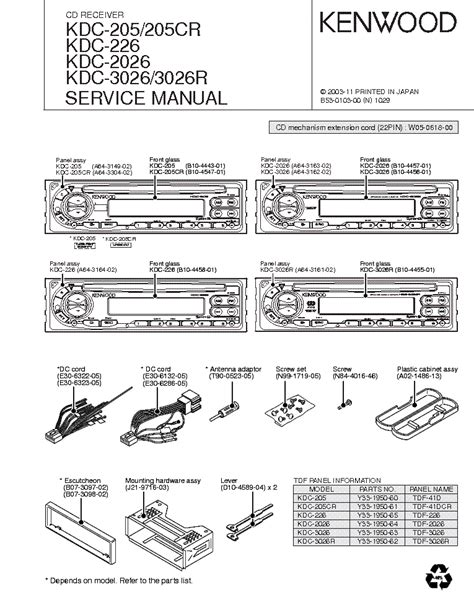 kenwood kdc  wiring diagram wiring wiring diagrams