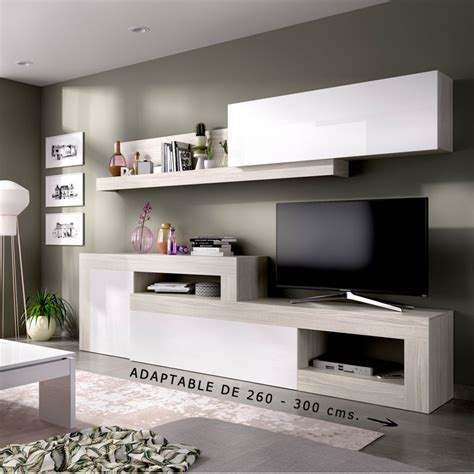 mueble comedor salon de  cms en color gris claro