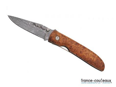 couteau cuisine damas couteau lame damas et manche en bois d 39 olivier 8999
