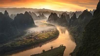 China River Li Yangshuo Desktop Landscape Laptop