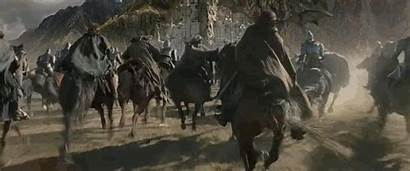 Riding Faramir Gandalf Aragorn Elf His Warrior