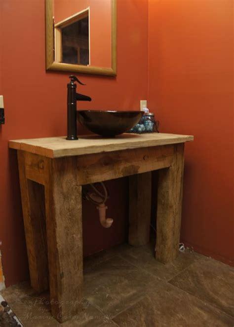 diy rustic bathroom vanity our rustic bathroom vanity marine corps nomads